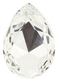 Swarovski Druppel 4327 30 x 20 mm Crystal (per stuk)
