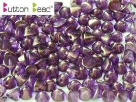 Button Bead Crystal GT Magenta (per 16)