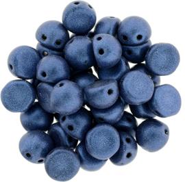 CzechMates Cabochon Metallic Suede - Blue (per 5 gram)