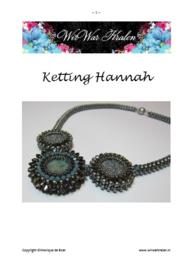 Pattern Necklace Hannah (PDF-File)