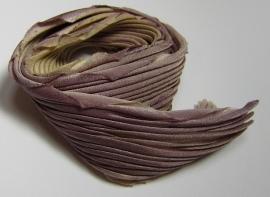 Shibori Zijde Taupe (per 20 cm)