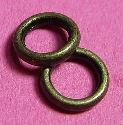 Closed Ring 6 mm H381 K (2 g.)