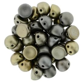 CzechMates Cabochon Matte - Metallic Leather (per 5 gram)