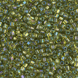 TR10-1813 Spkl Lined Chartreuse AB (per 10 gram)