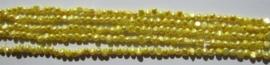 Zoetwaterparel Felgeel Nugget 5-6 mm Z078 (per streng)