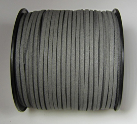 Suede Imitation 3 mm Charcoal Gray SU040 (1 meter)