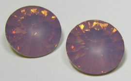 Resin Rivoli 16 mm Lilac Opal (per 2)