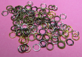 Ring Enkel 5 mm Mix H476 (per 5 gram)