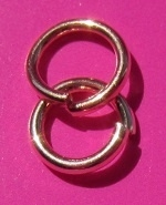 Ring Enkel 6 mm H280 R (per 5 gram)