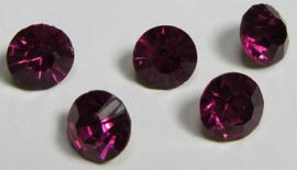 Glass Chaton SS39 Fuchsia (per 5)
