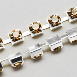 Cup Chain SS12 3 mm Light Colorado Topaz (meter)