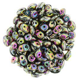 Superduo Bead Jet - Full Vitral Green (10 g.)