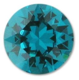 Swarovski Chaton SS39 Blue Zircon (per 5)