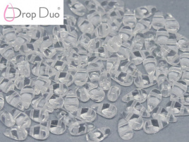 DropDuo 3 x 6 mm Crystal (per 50)