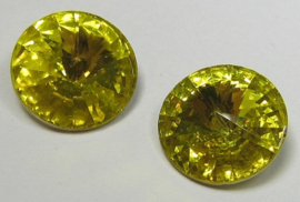 Resin Rivoli 14 mm Yellow (per 2)