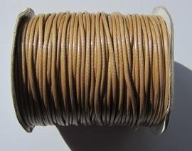 Waxkoord 2 mm Tan W029 (per meter)