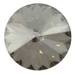 Swarovski Rivoli 18 mm Crystal Silver Shade (per 1)