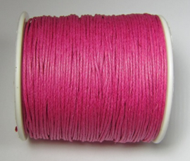 Waxed Cord 1 mm Camelia W151 (1 meter)