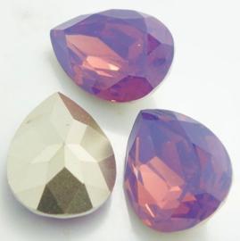 Resin Drop 13 x 18 mm Cyclamen Opal (per 1)