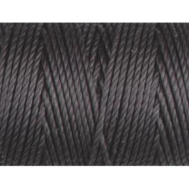C-Lon Bead Cord Tex 400 Charcoal (per rol van 35 meter)
