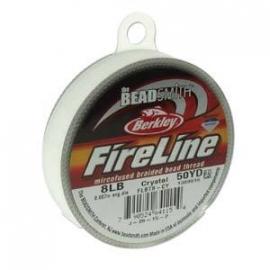 Fireline Crystal 0,22 mm 8 LB (per rol van 45 meter)