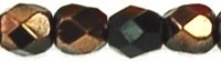 Fire Polished 3 mm Luster Bronze 1/2 (per 75)