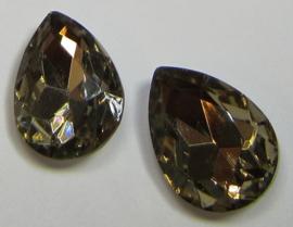 Glass Drop 13 x 18 mm Colorado Topaz (per 1)
