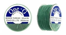 Toho One-G Draad Mint Green (per rol van 45 meter)