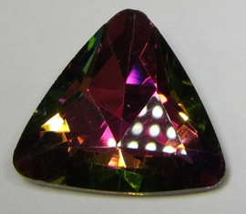 Glas Driehoek 23 mm Vitrail Medium (per stuk)