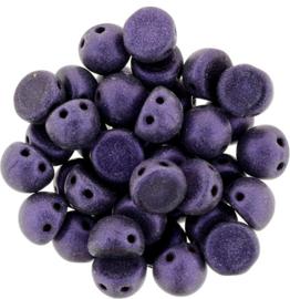 CzechMates Cabochon Metallic Suede - Purple (per 5 gram)