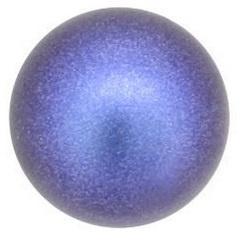 Swarovski Pearls Coin 12 mm Iridescent Dark Blue (per 1)
