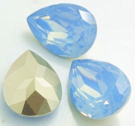 Resin Drop 13 x 18 mm Grey Sapphire Opal (per 1)