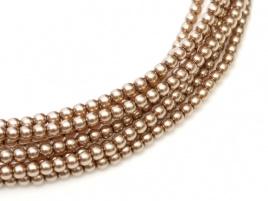 Glass Pearls Cocoa 2 mm (36 cm strand)