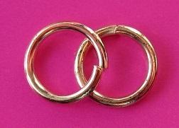 Ring Enkel 7 mm H352 R (per 5 gram)