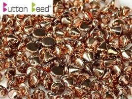 Button Bead Crystal Capri Gold Full (per 20)