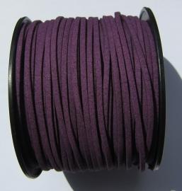 Suede Imitation 3 mm Dark Purple SU014 (1 meter)