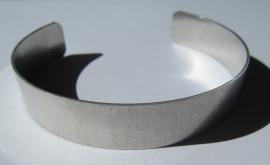 Aluminium Cuff 12,5 mm Recht (per stuk)