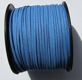Suede Imitation 3 mm Cornflower Blue SU030 (1 meter)
