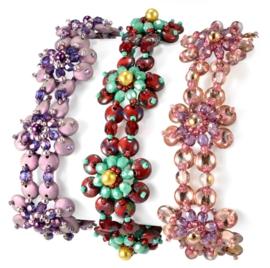 Patroon Armband Pearls on Posies (Gratis Patroon)