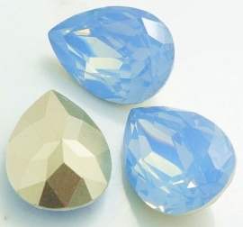 Resin Drop 18 x 25 mm Grey Sapphire Opal (per 1)