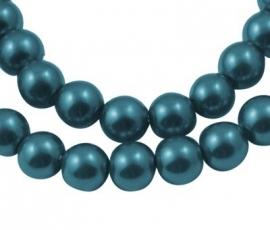 Glasparel Teal Blue 8 mm Y-126 (per 80 cm streng)