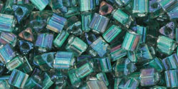 TG-08-270 Inside-Color Crystal/Prairie Green Lined (per 10 gram)