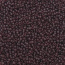 15-0153F Matte Dk Smoky Amethyst (per 5 gram)