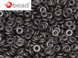 O Bead Alabaster Metallic Black (5 g.)