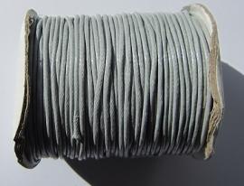 Waxkoord 2 mm Gray W015 (per meter)