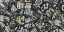 TG-08-282 Inside-Color Gray/Gun Metal-Lined (per 10 gram)