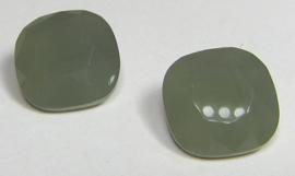 Glas Vierkant 12 mm Opaque Grey (per stuk)