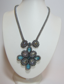 Kit Ketting Mayra Light Turquoise (Exclusief patroon)