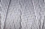 C-Lon Bead Cord Silver (74 meter)