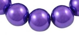 Glasparel Dark Bright Purple 8 mm A36 (per 80 cm streng)